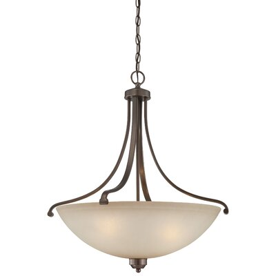 Stivers 4-Light Bowl Pendant