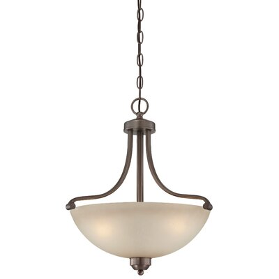Stivers 3-Light Bowl Pendant