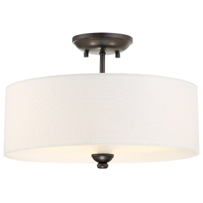 Stockton 3-Light Semi-Flush Mount