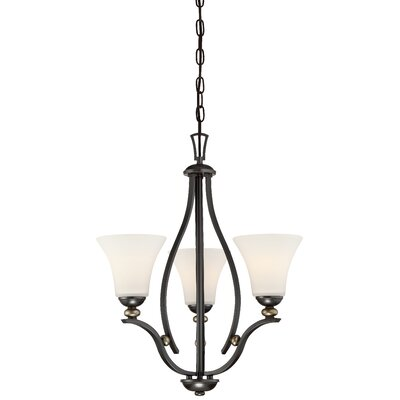 Stockton 3-Light Shaded Chandelier