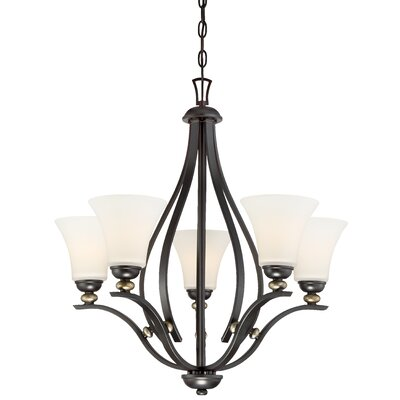 Stockton 5-Light Shaded Chandelier