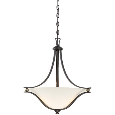 Stockton 3-Light Inverted Pendant
