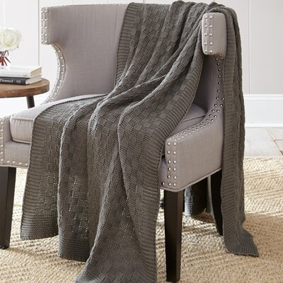 Victoria Cotton Throw Blanket