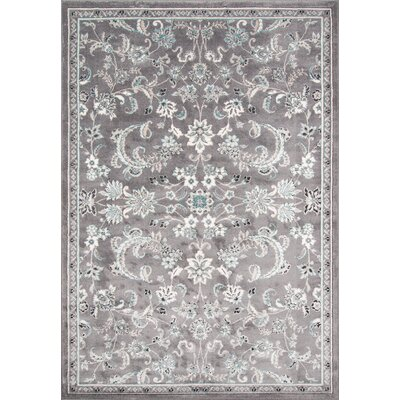 Kinsley Gray Area Rug Rug Size: 710 x 910