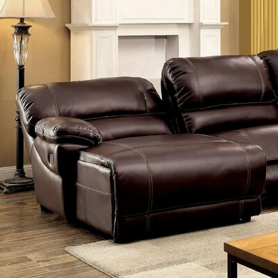 Newmont Contemporary Left Pushback Chaise