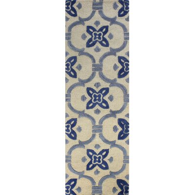 Alcott Hill Nesmith Hand-Tufted Ivory Area Rug