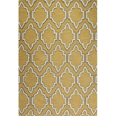 Netta Hand-Tufted Gold Area Rug