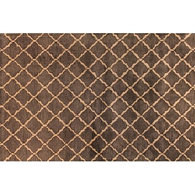 Newbury Chocolate Area Rug Rug Size: 56 x 86
