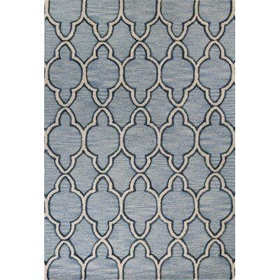 Nightingale Hand-Tufted Light Blue Area Rug Rug Size: Runner 26 x 8