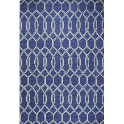 Norah Hand-Tufted Navy Area Rug