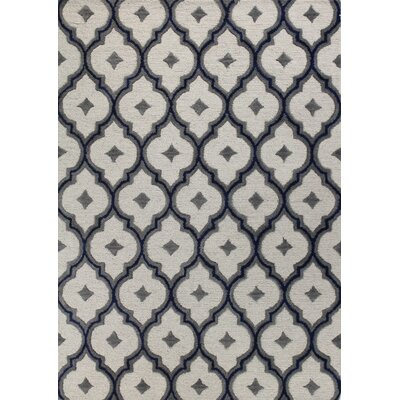 Odile Hand-Tufted Ivory Area Rug Rug Size: Runner 26 x 8
