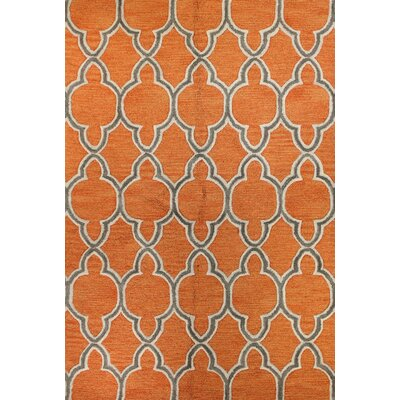 Olivia Hand-Tufted Mandarin Area Rug Rug Size: Rectangle 5 x 76