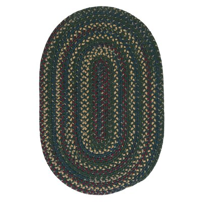 Mclaughlin Deep Forest Rug Rug Size: Oval 12 x 15