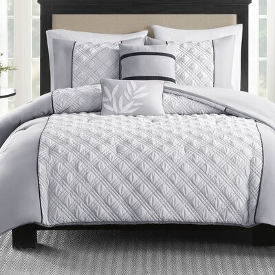 Hickory 5 Piece Comforter Set Size: Full/Queen
