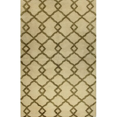 Shippenville Hand-Tufted Ivory Rug Rug Size: 3'9