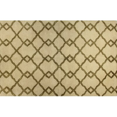 Shippenville Hand-Tufted Ivory Rug Rug Size: 79 x 99