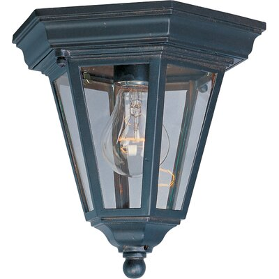 Listermann 1-Light Flush Mount Finish: Empire Bronze