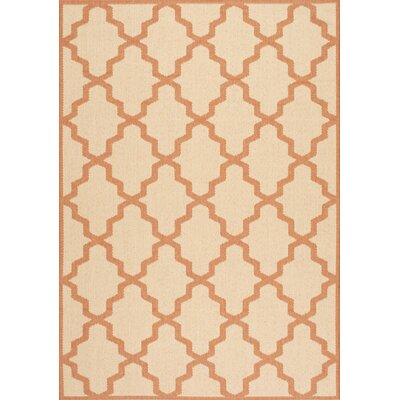 Sidell Red Indoor/Outdoor Area Rug Rug Size: 76 x 109