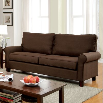 Somerville Modern Sofa Upholstery: Brown