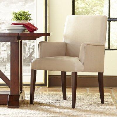 Osgood Arm Chair Upholstery: Linen