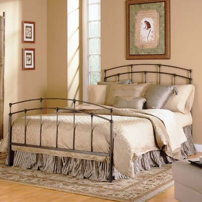 Alcott Hill Wolfhurst Metal Headboard and Footboard