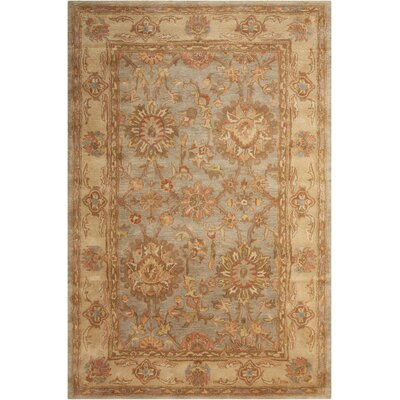 Glarus Aqua Area Rug Rug Size: Rectangle 2 x 3