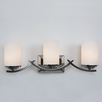 Phillipsburg 3-Light Vanity Light Finish: Chrome