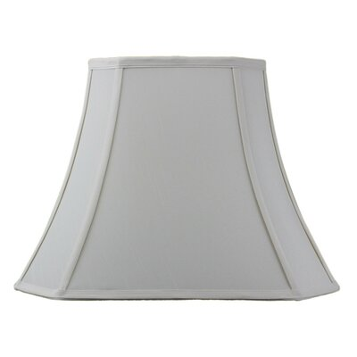 Modern Classics 16 Fabric Bell Lamp Shade Color: Eggshell