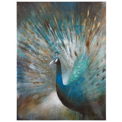 'Peacock Prowess' Painting