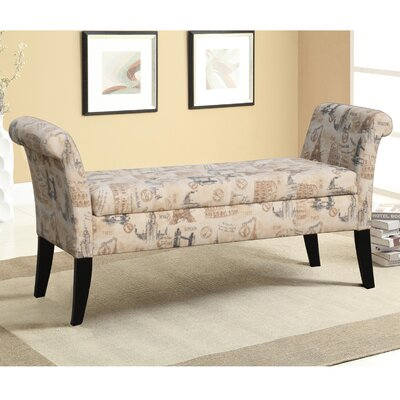 Alcott Hill Babineaux Upholstered Storage Bench