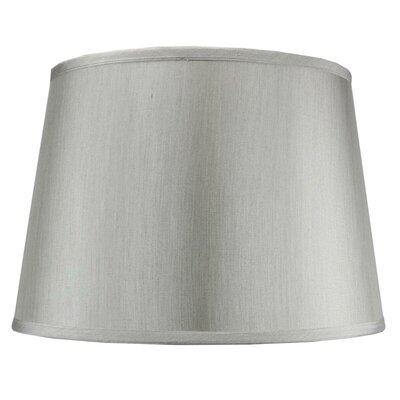 Traditional 16 Shantung Drum Lamp Shade Color: Gray
