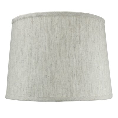 14 Shantung Drum Lamp Shade Color: Oatmeal