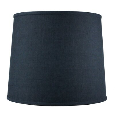 14 Shantung Drum Lamp Shade Color: Slate Blue