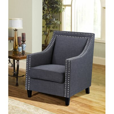Bachmann Arm Chair Color: Charcoal