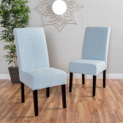 Back East Side Chair Upholstery: Light Sky