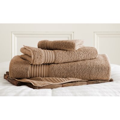 3 Piece Towel Set Color: Mocha