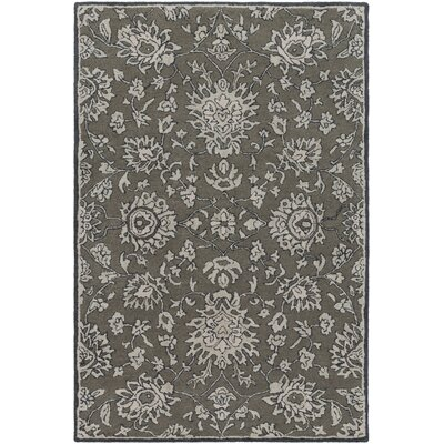 Langport Forest & Light Gray Area Rug Rug Size: Rectangle 4 x 6