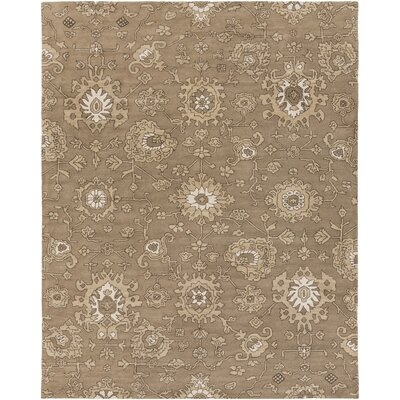 Langport Hand-Tufted Brown Area Rug Rug Size: Rectangle 8 x 10