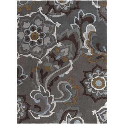 Robbins Pewter Rug Rug Size: Rectangle 2 x 3