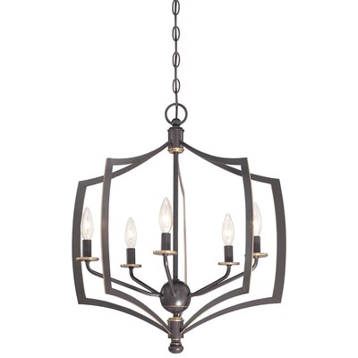 Stotts 5-Light Foyer Pendant