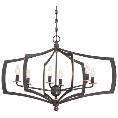 Alcott Hill Stotts 6-Light Foyer Pendant