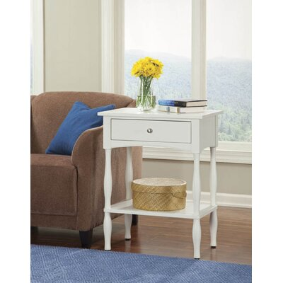 Bel Air End Table Finish: Ivory