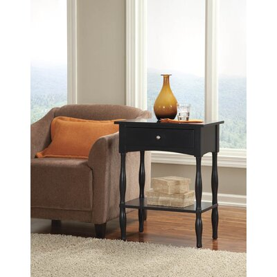 Bel Air End Table Finish: Charcoal