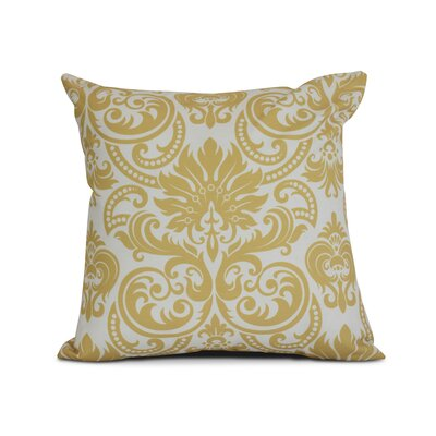 Hazlewood Throw Pillow Size: 16 H x 16 W x 3 D, Color: Gold