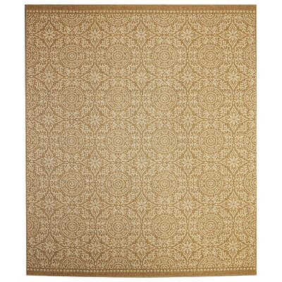 Barker Brown Indoor/Outdoor Area Rug Rug Size: 9 x 12