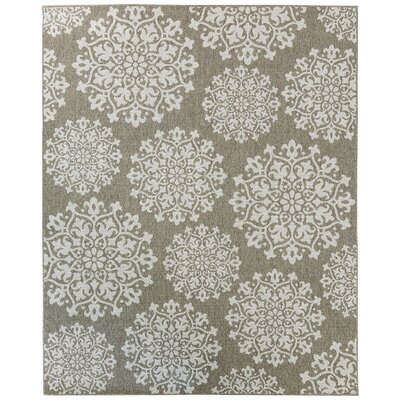 Barker Silver Indoor/Outdoor Area Rug Rug Size: 106 x 14