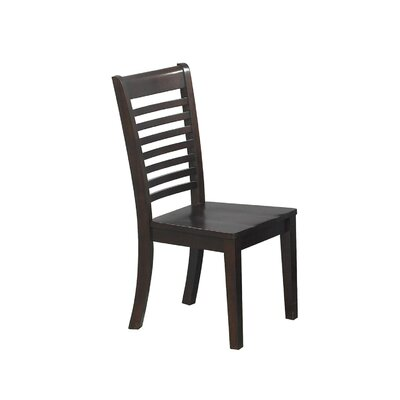 Calvert Side Chair (Set of 2) Finish: Chocolate