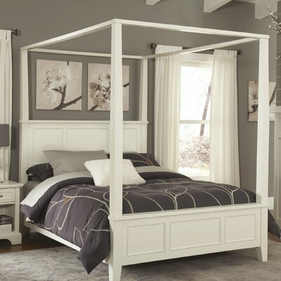Lafferty Canopy Bed Size: King