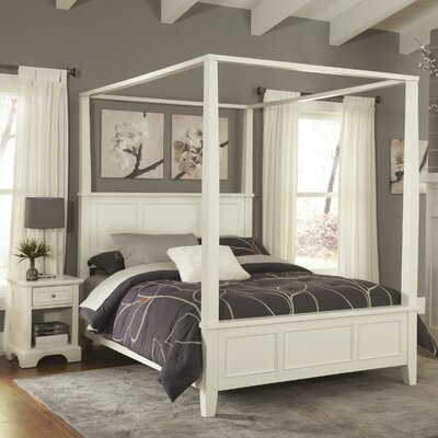 Lafferty Canopy 2 Piece Bedroom Set Size: King