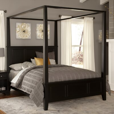 Marblewood Canopy Bed Size: Queen
